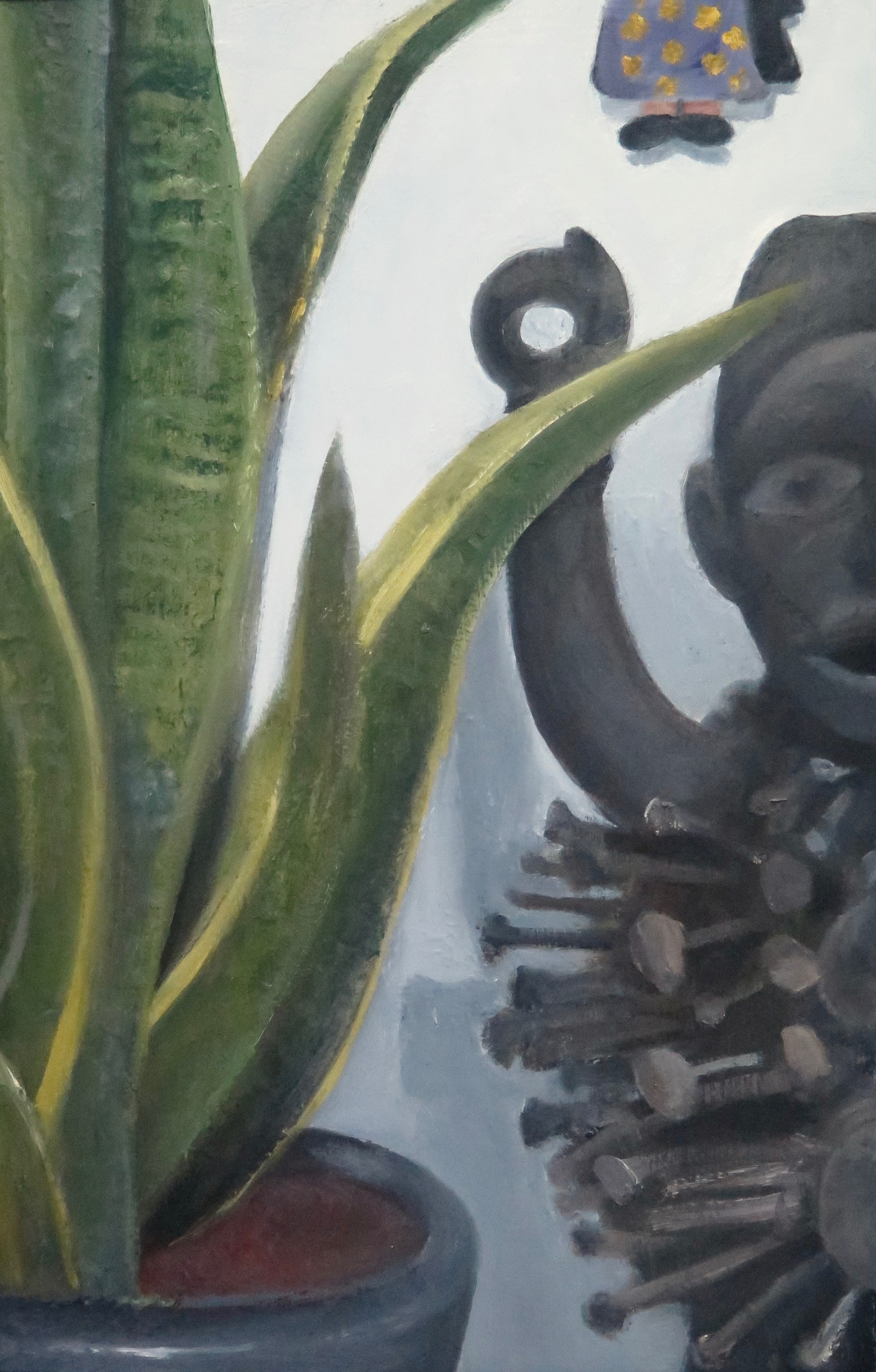 Athir_Shayota_Still_Life_with_Nkisi_and_Zapatista_Figures_2015