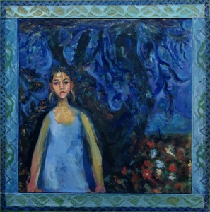 Tracey, 1992-93. Collection of the Arab American National Museum